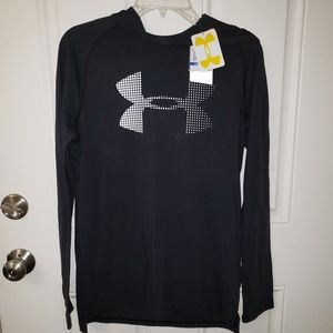 NWT Under Armour Hooded Shirt